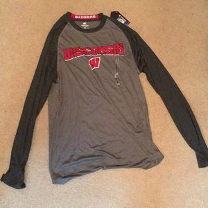 Other - Long sleeve Wisconsin shirt